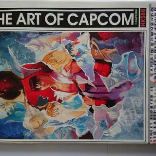 絕版 Capcom授權 The Art of Capcom 畫集