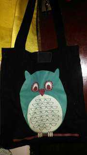 Octopus Tote Bag Owl