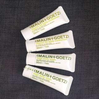 Malin+Goetz Body Wash & Moisturiser