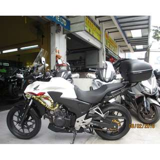 Honda CB400X oct 2014 D/P $500 or $0 With out insurance (Terms and conditions apply. Pls call 67468582 De Xing Motor Pte Ltd Blk 3006 Ubi Road 1 #01-356 S 408700.