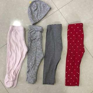 $5 for all - Assorted Brand's baby leggings/pants