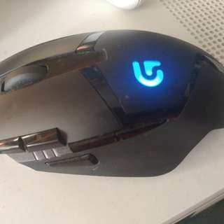 Logitech Hyperion Fury G402 Gaming Mouse
