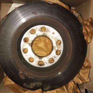 Used rear rotor for scirocco