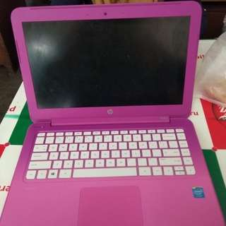 HP Steam 11 Magenta Pink Notebook