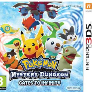 Pokémon Mystery Dungeon: Gates to Infinity (3DS)