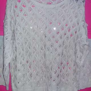 Dirty white blouse