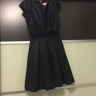 Ted Baker Dress dark blue with tag