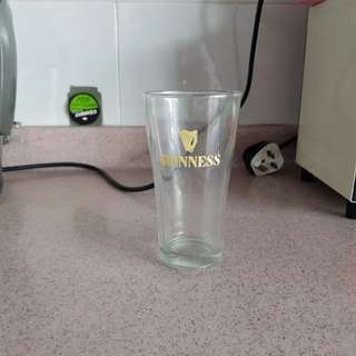 Antique Guinness Beer Glass