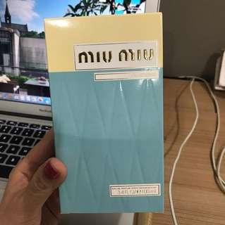 Miu Miu,3.4 FL,OZ,100 ml, empty box.  Parfums box