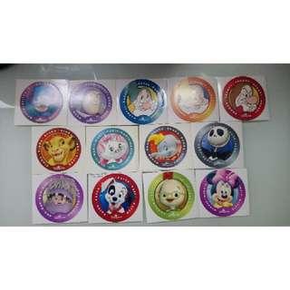 迪士尼貼紙(大圓)