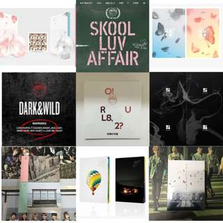 BTS Album List