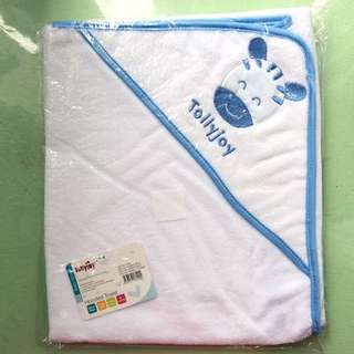 Baby hooded towel/swaddle