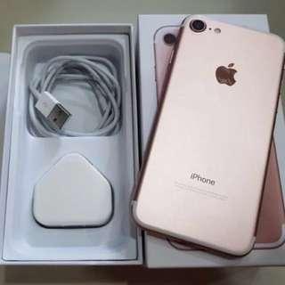 iPhone 7 (128GB Rose Gold/ Full Set)