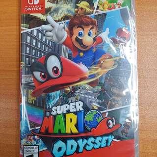 全新現貨 NS Switch Super Mario Odyssey 超級瑪利歐奧德賽