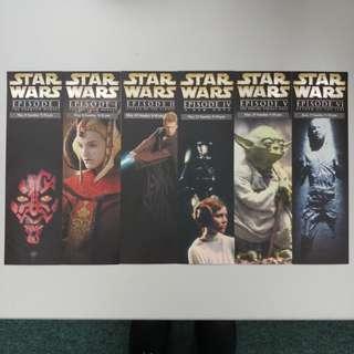 Star Wars 書籤 (一套6張)