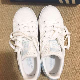 Adidas Stan Smith Baby blue women's shoes