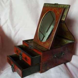 Retro jewelry box