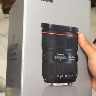 Canon 24-70mm f2.8L II