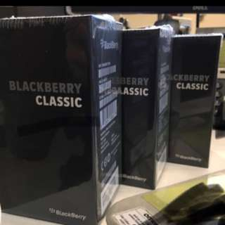 Blackberry Classic (BNIB sealed) negotiable