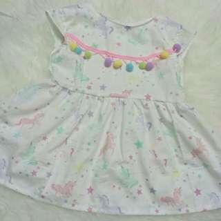 Unicorn Baby Dress