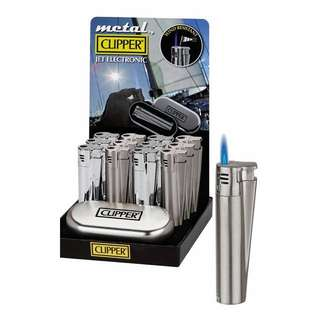 New Clipper Metal Jet Electronic Lighter (Chrome)
