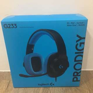 Logitech gaming headset G233