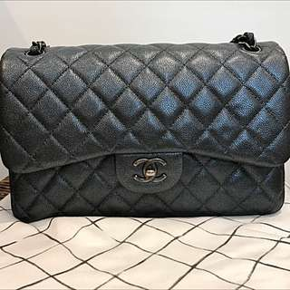 Chanel Jumbo Classic Flap Caviar