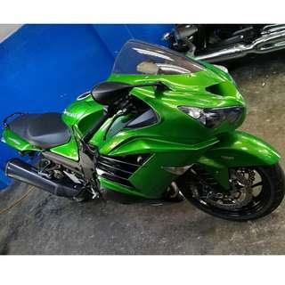 2014 Kawasaki ZZR1400 ABS (Kindly read description below)