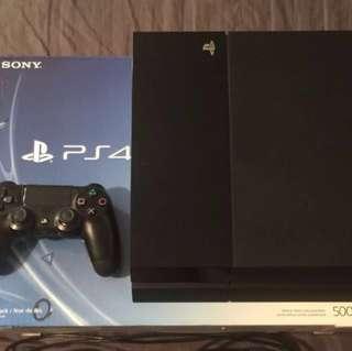 sony Playstation 4 ps4 full box