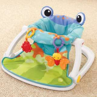 BNIB-Fisher-Price Sit-Me-Up Floor Seat - Frog; in stock!