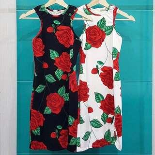 Dress Rose Halter