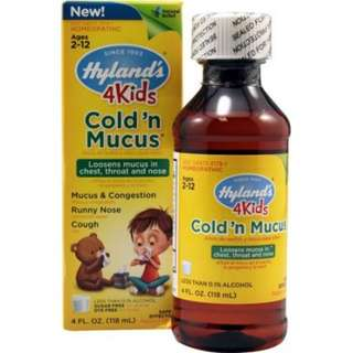 HYLAND'S Cold N Mucus Herbal Homeopathic