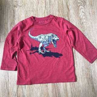 Baby Gap Red Dino Pull Over