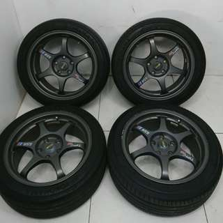 17 '' Sport Rim With Tyre 5x120 (SR886)