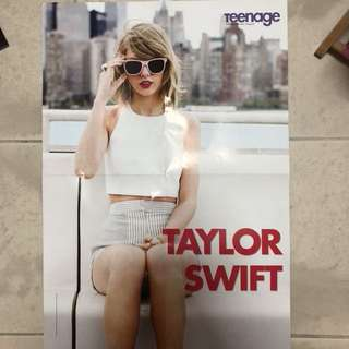 taylor swift poster !!