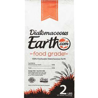 Food Grade Diatomaceous Earth (2 lbs) in original packaging from US