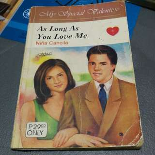 Pocket Books (My Special Valentine - As Long As You Love Me)