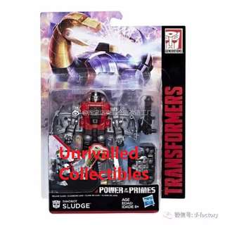[Back order] Hasbro Transformers Power of the Primes POTP Deluxe Class Wave 2 - Dinobot Snarl and Sludge