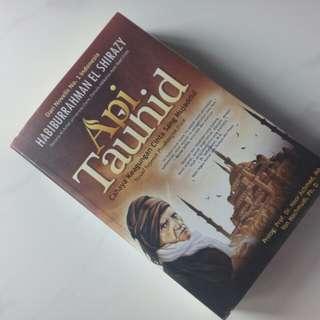 Gratis ongkir'novel api tauhid Habiburrahman el-shirazy'
