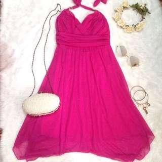 Trixxi Backless Dress Gown