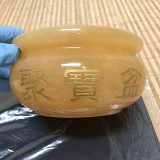 🚚 黃玉聚寶盆