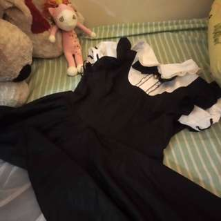 Maid cosplay dress