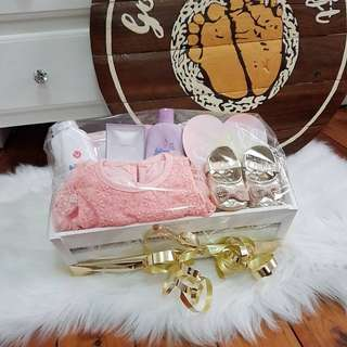 Gorgeous baby girl gift set