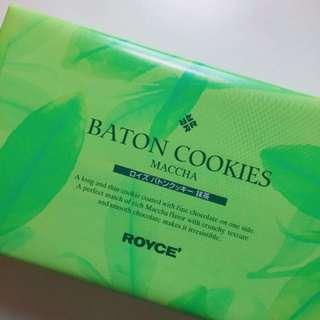 ROYCE Baton Cookies (Maccha)🇯🇵