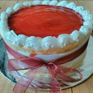 Strawberry Pie - ukuran besar