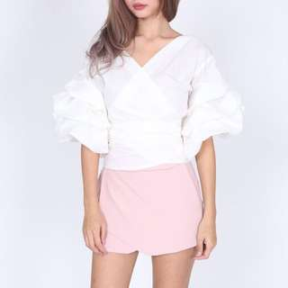 MDS Collection Wrightley Top In White
