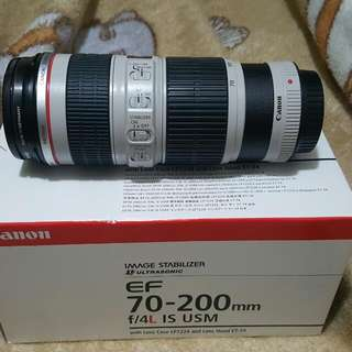 🚚 Canon 70-200mm F4L IS USM