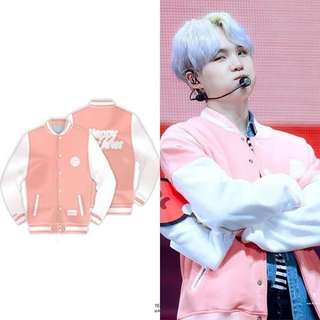 BTS 4TH MUSTER  BASEBALL JACKET