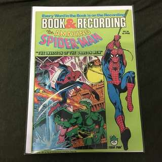 Amazing Spider-Man PR24 Peter Pan Records Marvel Comics Book Stan Lee Movie Spiderman