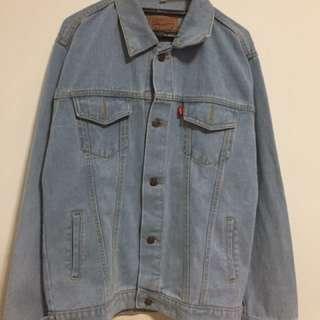 Oversized Denim Jacket / Jaket Jeans (UNIVERSAL)